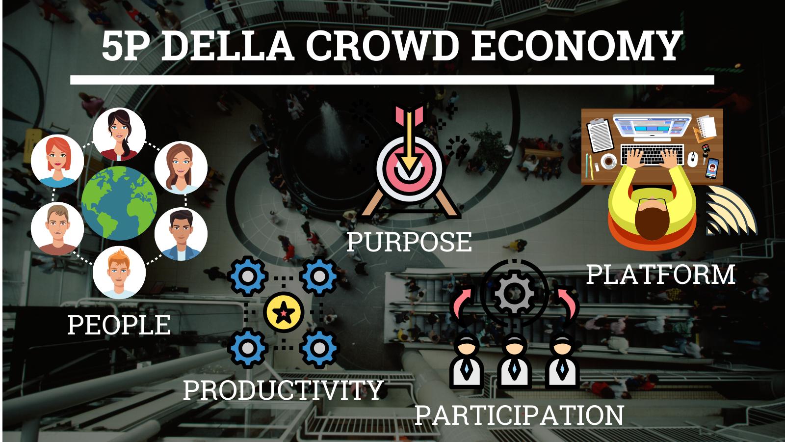 5 P - Crowd Economy